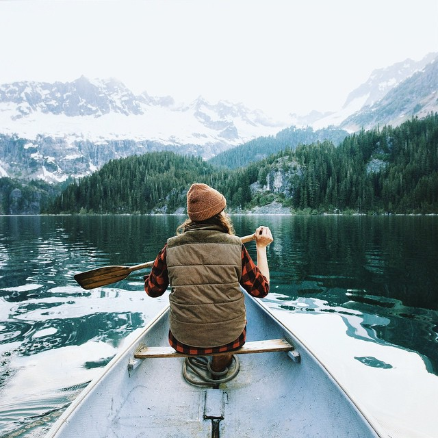 Early morning on the lake #stayandwander